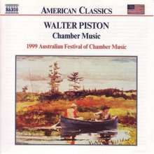 Walter Piston (1894-1976): Flötenquintett (1942), CD