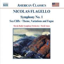 Nicolas Flagello (1928-1994): Symphonie Nr.1, CD