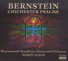 Leonard Bernstein (1918-1990): Chichester Psalms, CD