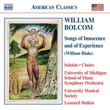 William Bolcom (geb. 1938): Songs of Innocence and of Experience, 3 CDs