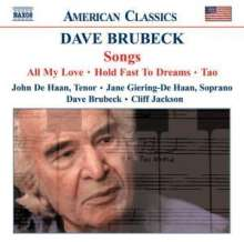 Dave Brubeck (1920-2012): Songs, CD