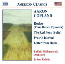 Aaron Copland (1900-1990): The Red Pony-Suite, CD