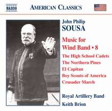 John Philip Sousa (1854-1932): Music for Wind Band Vol.8, CD