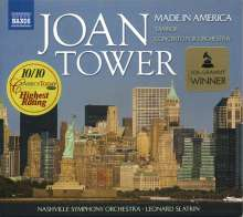 Joan Tower (geb. 1938): Concerto for Orchestra, CD