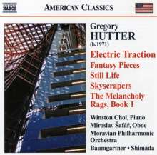 Gregory Hutter (geb. 1971): Electric Traction, CD