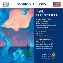 Paul Schoenfield (geb. 1947): Violakonzert, CD