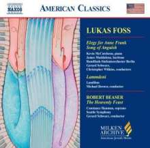 Lukas Foss (1922-2009): Song of Anguish, CD