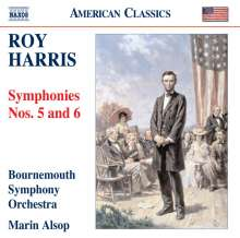 Roy Harris (1898-1979): Symphonien Nr.5 & 6, CD