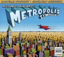 Michael Daugherty (geb. 1954): Metropolis Symphony, CD