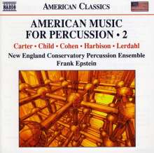 American Music For Percussion Vol.2, CD
