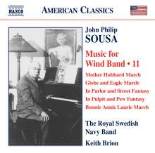 John Philip Sousa (1854-1932): Music for Wind Band Vol.11, CD