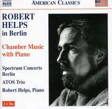 Robert Helps (1928-2001): Klaviertrios Nr.1 & 2, 2 CDs