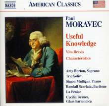 Paul Moravec (geb. 1957): Useful Knowledge - A Franklin Fantasy, CD