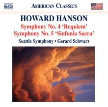 Howard Hanson (1896-1981): Symphonien Nr.4 & 5, CD
