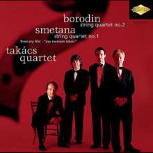 Bedrich Smetana (1824-1884): String Quartets, CD