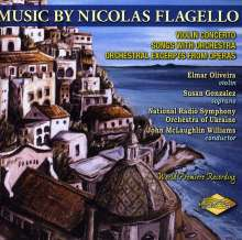 Flagello / Oliveira / N: Music By Nicholas Flagello, CD