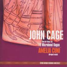 John Cage (1912-1992): 18 Microtonal Ragas (Solo for Voice 58), CD