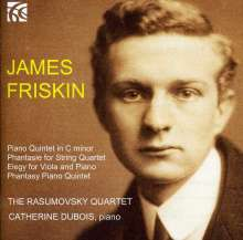 James Friskin (1886-1967): Klavierquintett c-moll, CD