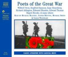 Poets of the Great War, 2 CDs