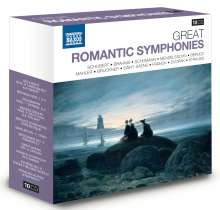 Great Romantic Symphonies, 10 CDs