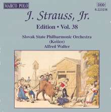 Johann Strauss II (1825-1899): Johann Strauss Edition Vol.38, CD