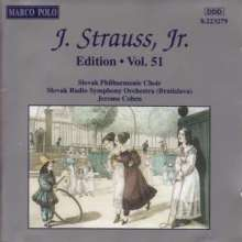 Johann Strauss II (1825-1899): Johann Strauss Edition Vol.51, CD