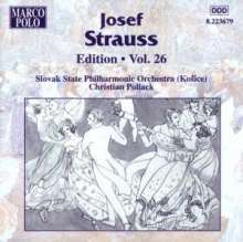 Joseph Strauss (1827-1870): Joseph Strauss Edition Vol.26, CD