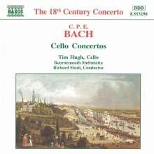 Carl Philipp Emanuel Bach (1714-1788): Cellokonzerte Wq.170-172, CD