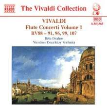 Antonio Vivaldi (1678-1741): Flötenkonzerte Vol.1, CD
