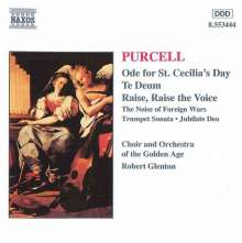 Henry Purcell (1659-1695): Ode on St.Cecilia's Day, CD