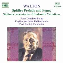 William Walton (1902-1983): Orchesterwerke, CD