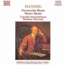 Handel / Warchal / Cape: Royal Fireworks / Water Music, CD