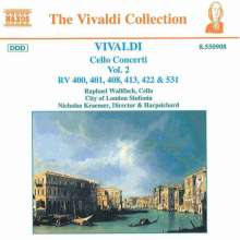 Antonio Vivaldi (1678-1741): Cellokonzerte Vol.2, CD