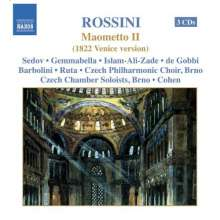 Gioacchino Rossini (1792-1868): Maometto II, 3 CDs