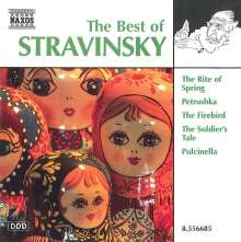 Best of Strawinsky, CD