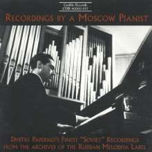 Dmitry Paperno - Recordings by a Moscow Pianist, CD