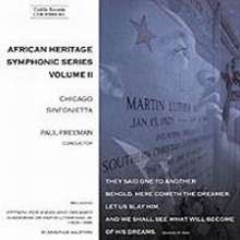 African Heritage Symphonic Series Vol.2, CD