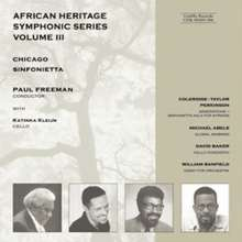 African Heritage Symphonic Series Vol.3, CD