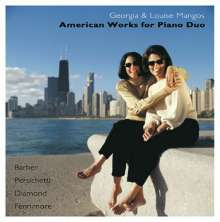 Georgia & Louise Mangos - American Works for Piano Duo, CD
