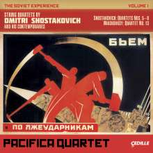 Pacifica Quartet: The Soviet Experience Vol.I, 2 CDs