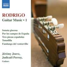 Joaquin Rodrigo (1902-1999): Gitarrenwerke Vol.1, CD