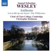 Samuel Sebastian Wesley (1810-1876): Anthems, CD