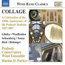 Peabody Conservatory Wind Ensemble - Collage, CD