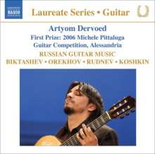 Artyom Dervoed - Russian Guitar Music, CD