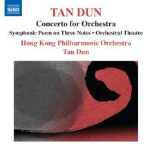 Tan Dun (geb. 1957): Concerto for Orchestra, CD