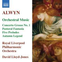 William Alwyn (1905-1985): Orchesterwerke, CD