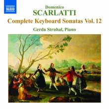 Domenico Scarlatti (1685-1757): Klaviersonaten Vol.12, CD