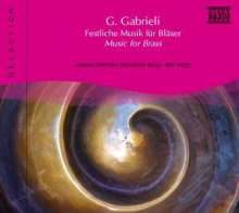 Naxos Selection: Gabrieli - Bläsermusik, CD