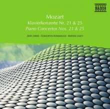 Naxos Selection: Mozart - Klavierkonzerte Nr.21 & 25, CD