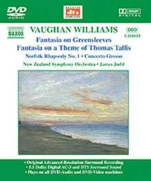 Ralph Vaughan Williams (1872-1958): Fantasia on a Theme by Tallis, DVD-Audio